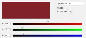 metodo colore rgb2