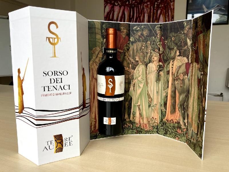 scatola vino